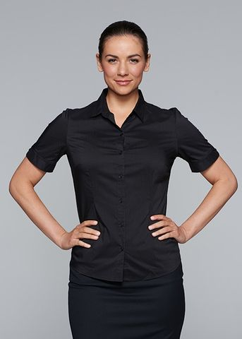MOSMAN LADY SHIRT SHORT SLEEVE - N2903S