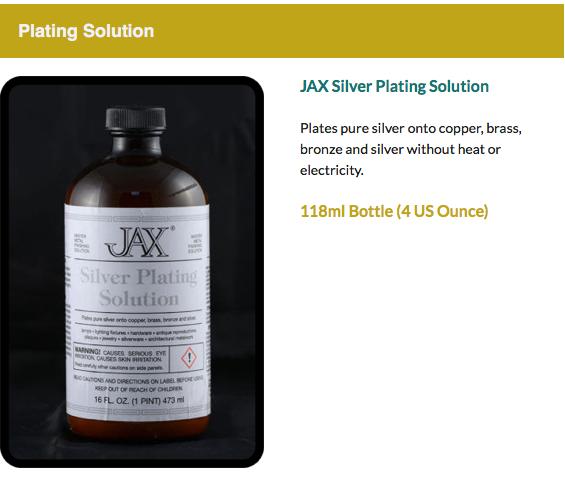JAX Plating Solution