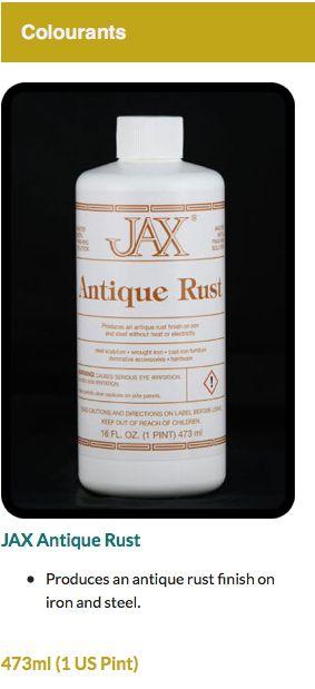 JAX Antique Rust