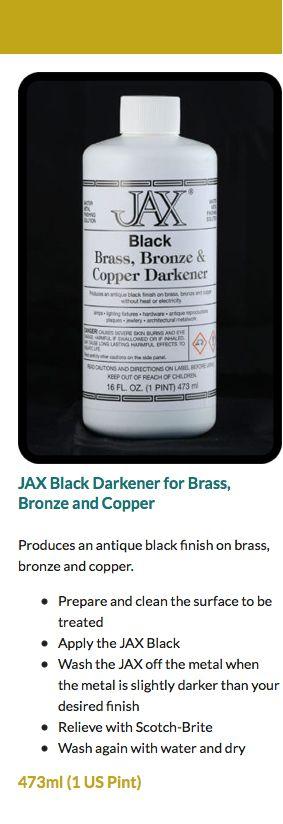 JAX Black Darkener