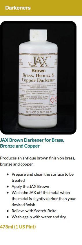 JAX Brown Darkener