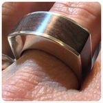 Sterling Silver and Jarrah ring