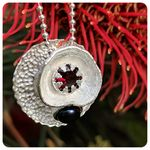 Gumnut Collection with Garnet and FWP Pendant