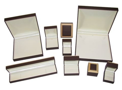 LEATHERETTE WOOD FRAME BOXES