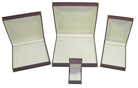 GOLD CORNER BOXES - WINE