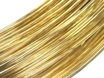 9CT YELLOW 1.0MM RND. WIRE