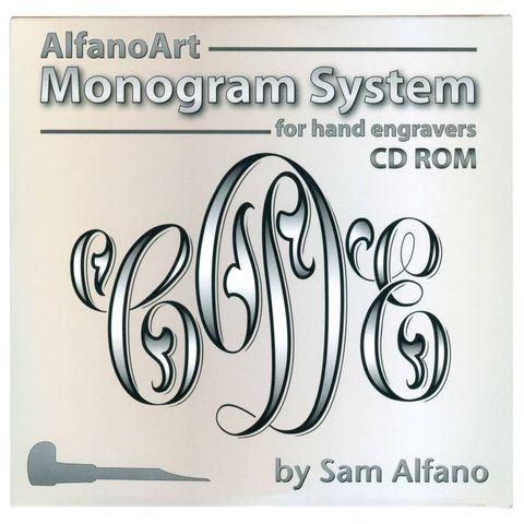 CD ROM - AlfanoArt Monogram System