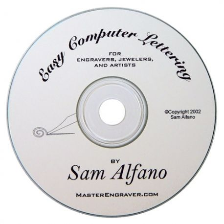 CD: GRS Easy Computer Lettering by Sam Alfano