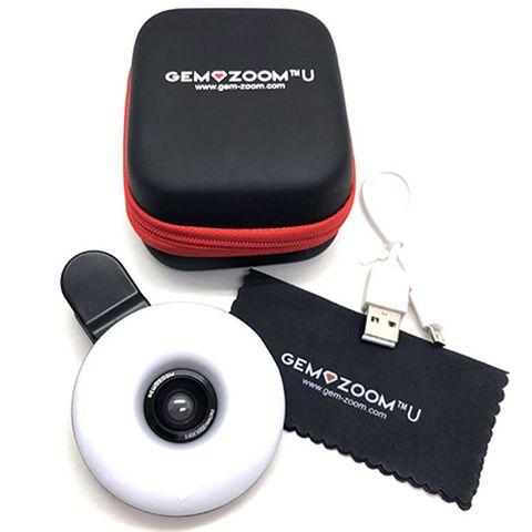 Gem-Zoom U - Universal Phone Camera Lense 10x LED