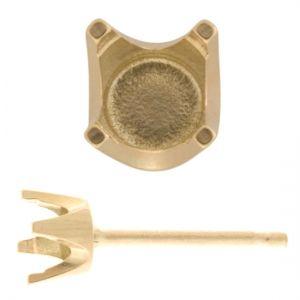 Ear Studs 4 Claw Heavy
