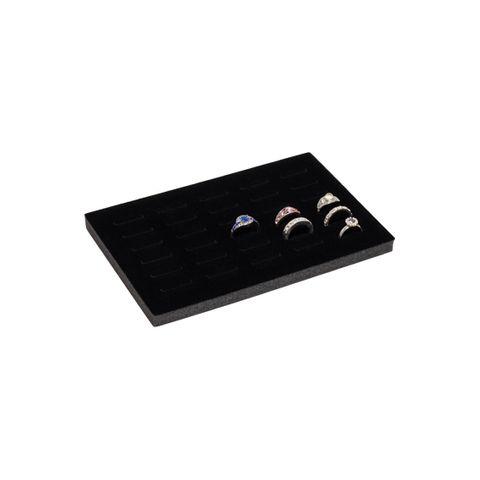 30 Ring Slot Black Insert