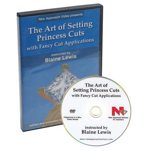 DVD GRS Art of Setting Princess Cuts wFancy Cut Ap