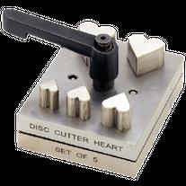 Disc Cutter - Heart Set of 5