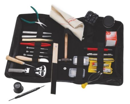 Tool Kit - Watchmaker Kit in Leather Case