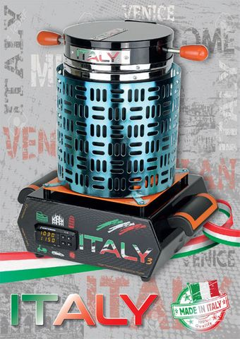 Italy 3 Furnace Electric 3 kg