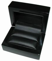 BLACK WOODEN BOXES