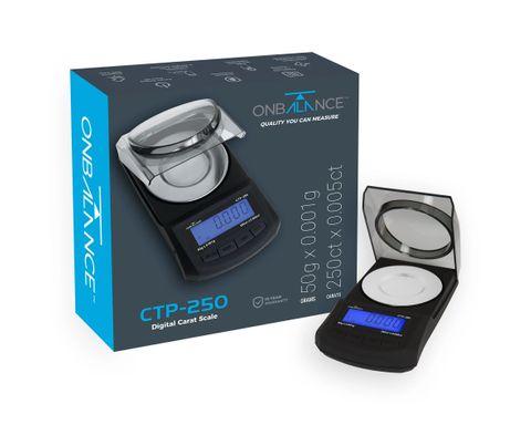 On Balance Carat Scale Pro - 50g x 0.001g 250 ct