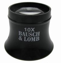 BAUSCH & LOMB PLASTIC EYE LOUPES