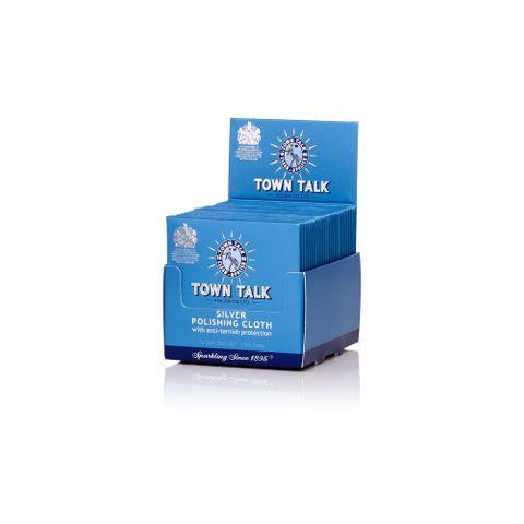 Town Talk - Retail Display Pack - Silver Cloth
