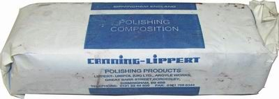 Tripoli Blue (Steelbrite) Polishing Compound 800gm