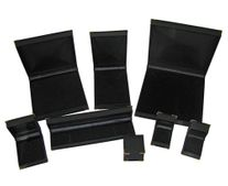 GOLD CORNER BOXES - BLACK
