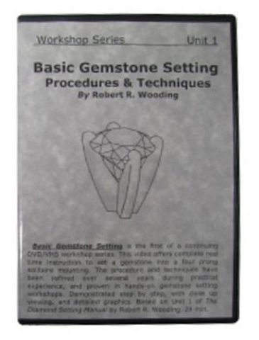 DVD - Basic Gemstone Setting by Robert Wooding