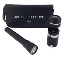 Darkfield 10x Loupe with Light