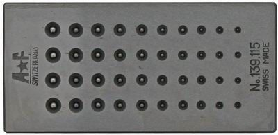 Swiss Beader Shaping Block - 40 Hole