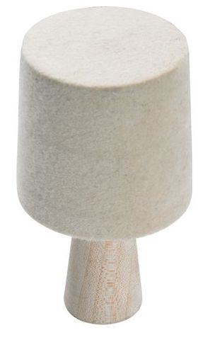BANGLE BUFF WOOD HUB - FELT 47-52MM X 50MM