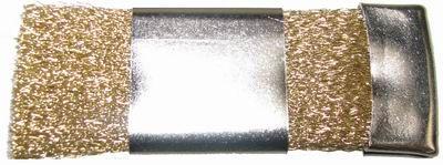 HATHO Scratch Brush Adjustable Brass Wire