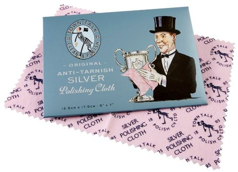 TOWN TALK - SILVER POLISHING CLOTHS