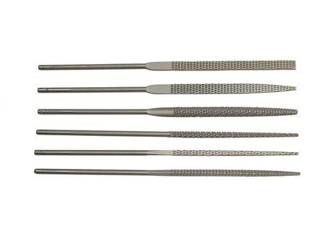Needle File - Teborg Rasp 140mm (Set of 6)