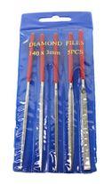 Diamond Needle File - 140mm (Set of 5)