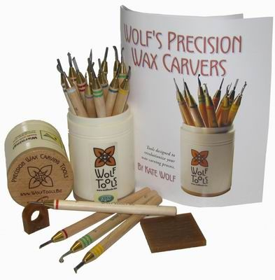 WOLF WAX CARVERS SET OF 18