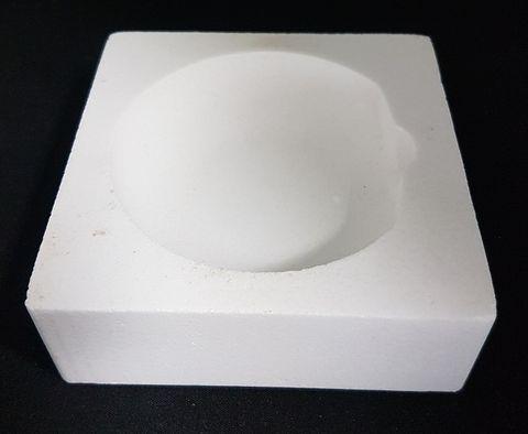 Ceramic Crucible High Temp - Square - #72