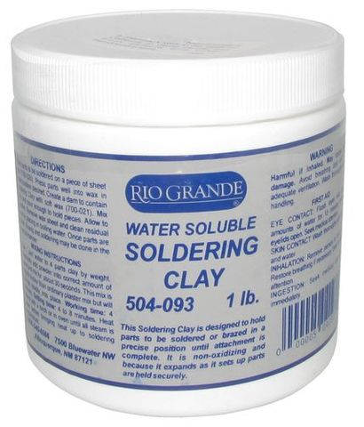 Soldering Clay - Soluble