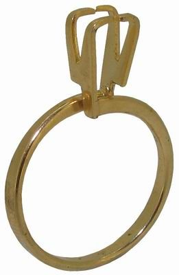 Stone Display Ring Holder Gold Colour