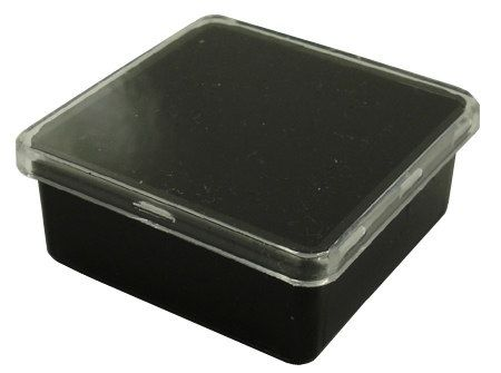 SQUARE POD - CLEAR LID