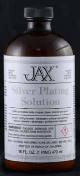 Jax Silver Plating Solution - 118ml (4 US Ounce)
