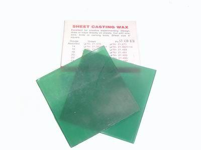 CASTING WAX SHEETS