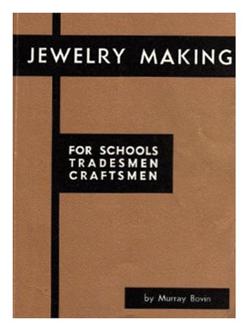 Book - Jewelry Making by Murray Bovin