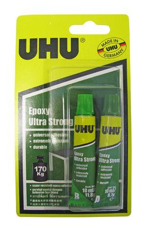 UHU Epoxy Adhesive - Ultra Strong 2 x 10ml