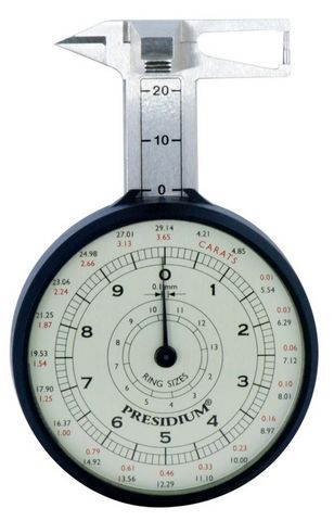 Presidium - Gemstone Dial Gauge & Chart - 0-23mm
