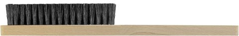 Hand Brush - Wooden with Black Bristles 4 Rows
