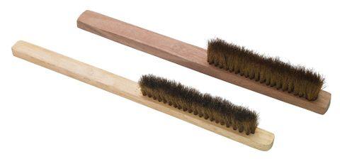 Hand Brush Brass 4 Row