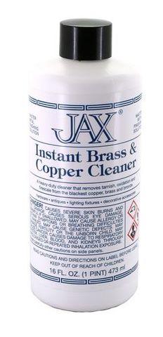 Jax Instant Brass & Copper Clean - 473ml (US Pint)