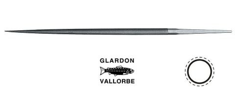 VALLORBE 8'' ROUND FILE