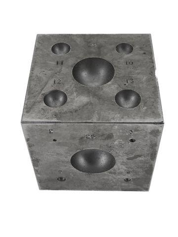 Doming Block: Cube Die -  2.0mm > 25mm
