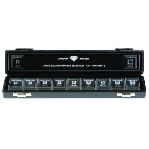 Diamond Master 4C - Set Princess 1.25ct to 5.0ct