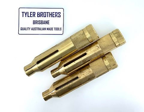 Tyler Brothers - Brass Inside Ring Clamps Set Of 3